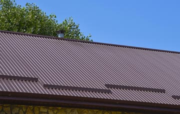 typical Tang Hall corrugated roof uses